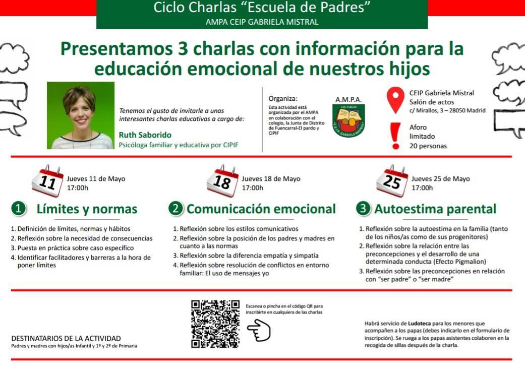 Ciclo sobre educación emocional – Web Web – AMPA Gabriela Mistral 50ceae